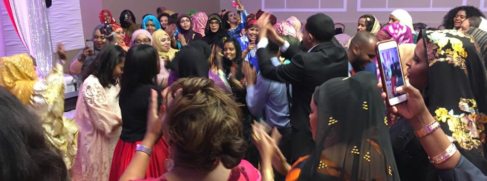 Multi-Cultural Wedding Reception