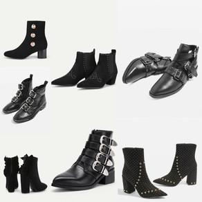 Sélection boots noires