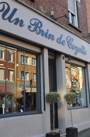 DECOUVERTE DE LA BOUTIQUE UN BRIN DE COZETTE
