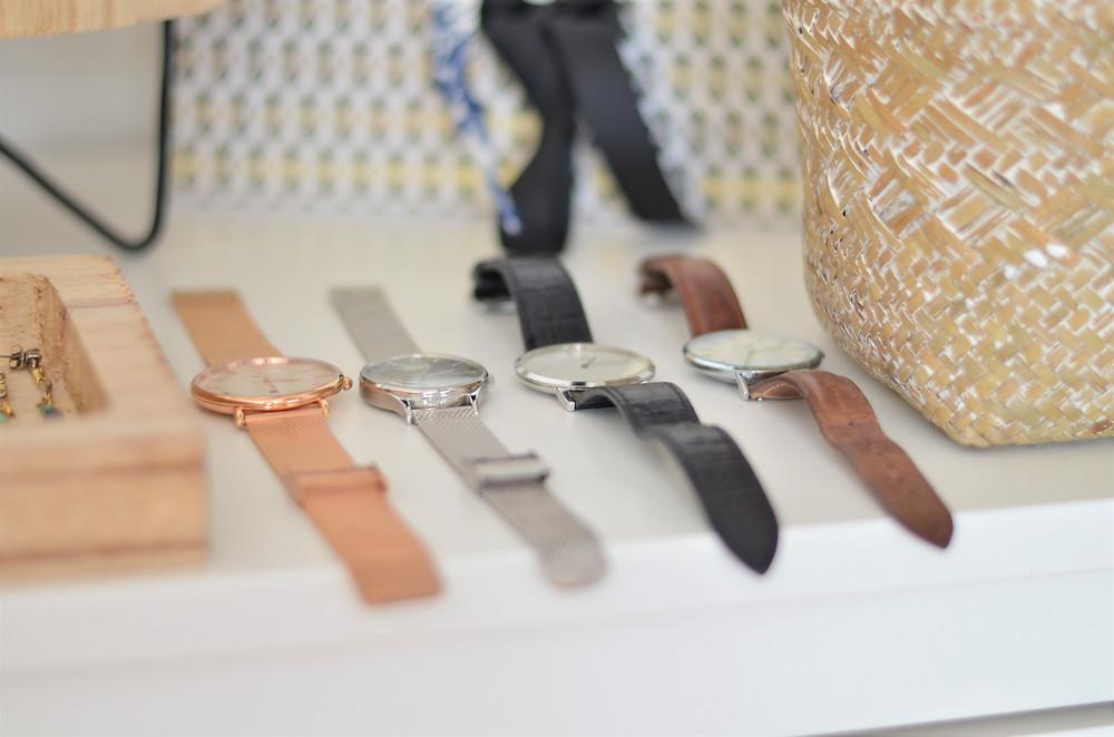 rangement montres