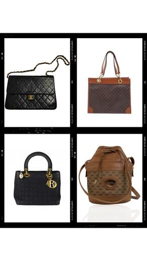 Sélection Sacs de luxe vintage