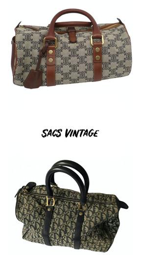 Sélection sacs vintage