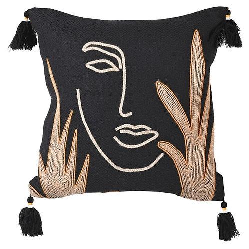 Black Phantom Cushion Cover