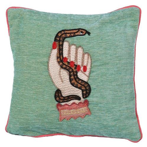 Snake Charmer Cushion
