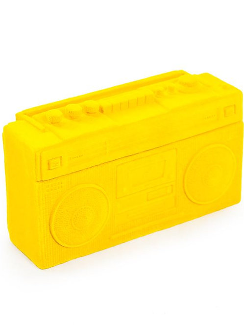 Bright Coloured Flock Radio Money Box