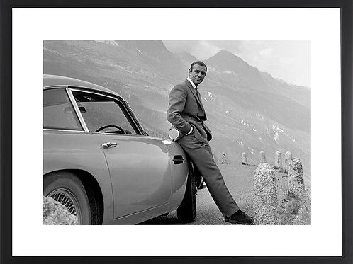 James Bond Aston Martin Print