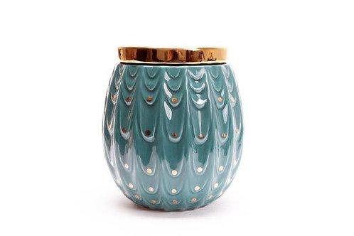Peacock Trinket Pot