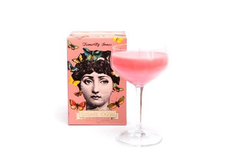 Mademoiselle Pink Cocktail Candle