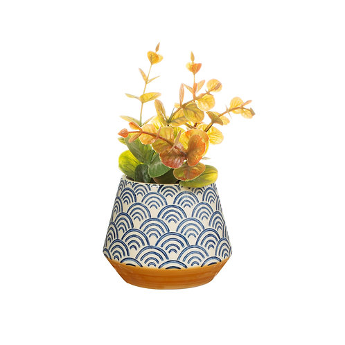 Blue Wave Small Planter