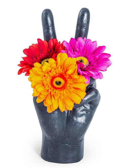 Large Peace Hand Vase