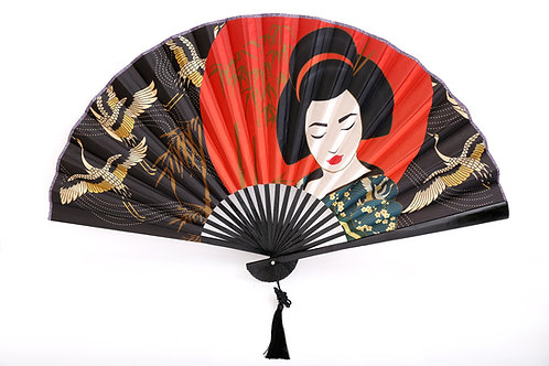 Geisha Wall Fan