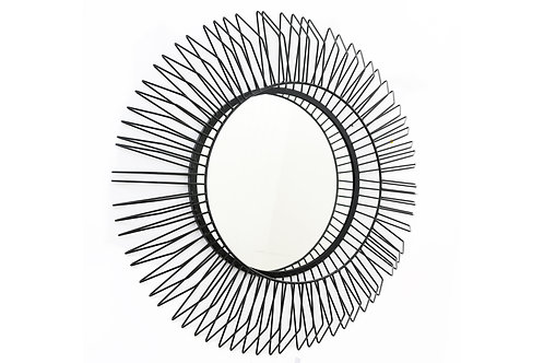 Large Wire Framed Mirror