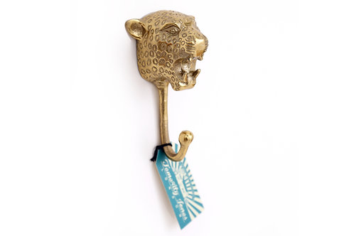 Brass Leopard Hook