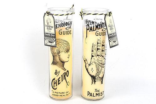 Phrenology/ Palmistry Candle Pot