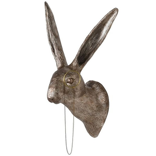 Hare with a Monocle Wall Decor