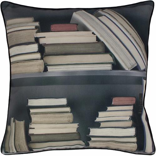 Vintage Bookshelf Cushion