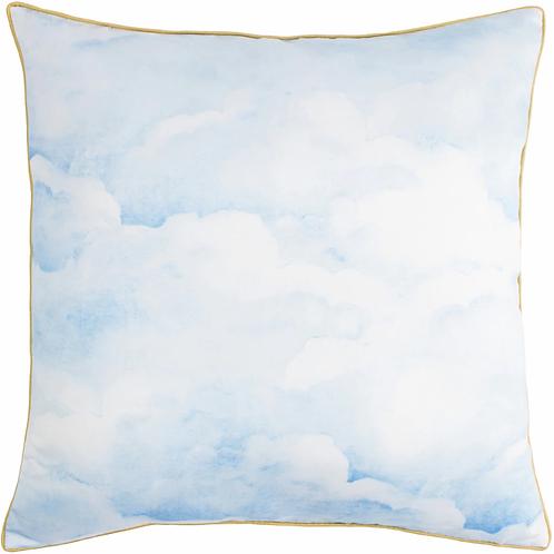 Smokey Blue Clouds  Cushion