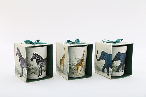 Tropical Safari Candle Pot