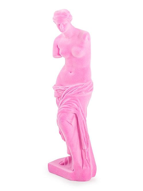 Pink Flock Venus De Milo Figure