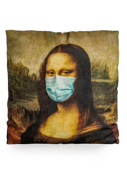 """CoronaLisa"" Cushion"