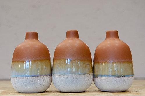 Mojave Glaze Brown Vase