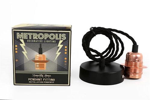 Metropolis Pendant Fitting
