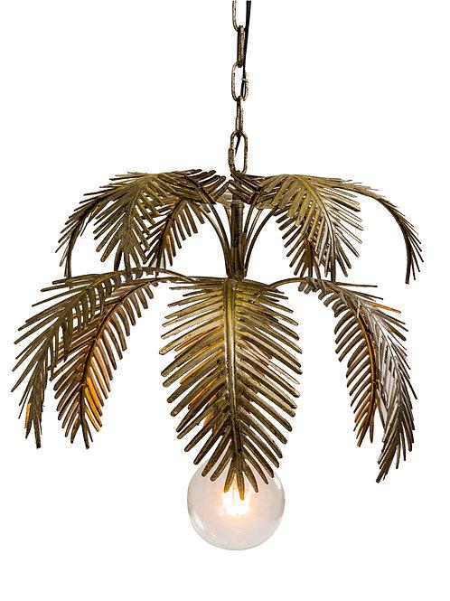 Antique Gold fern Leaf Chandelier Pendant
