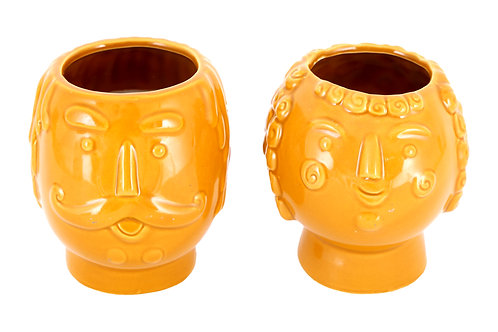 Colonel Pepper/Lady Rose candle pots