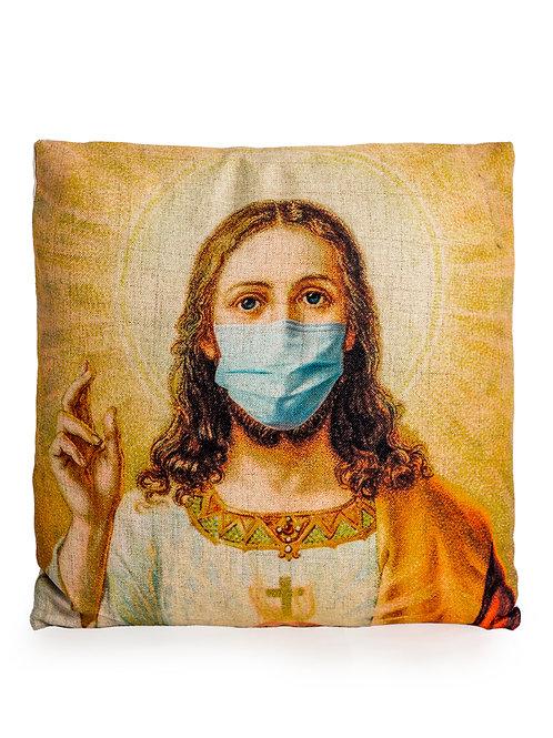 Jesus Face Mask Cushion