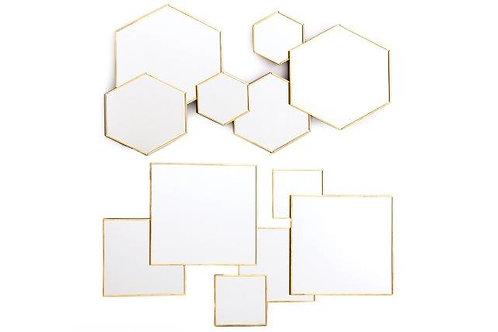 Boho Geometric Mirror