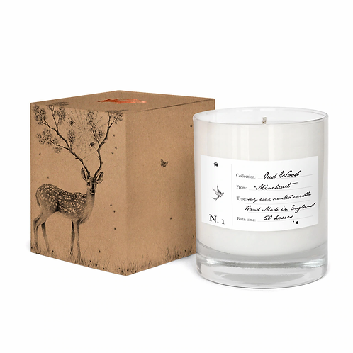 Oud Wood Soy Scented Candle