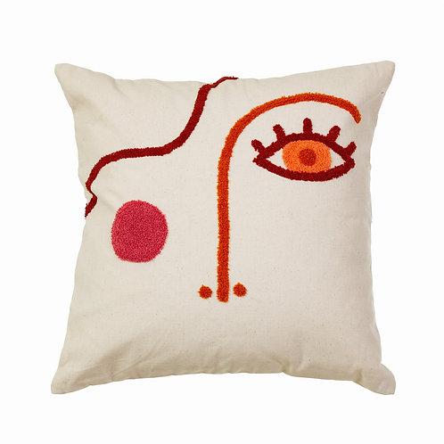 Tufted Face Cushion