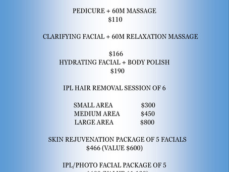 FALL WINTER SPECIAL!