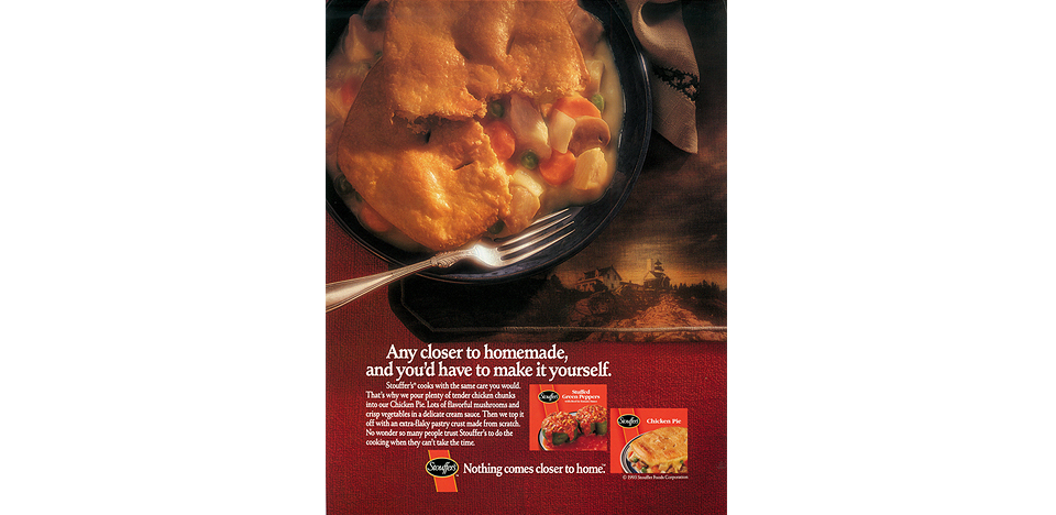 Stouffer's Food Print Campaign
