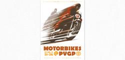 Motorbikes at the Vintage Grandprix