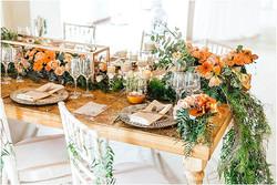 Casablanca table orange