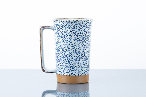 Tazza  BLUE SQUIGGLES XL
