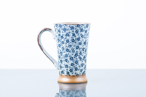 Tazza BLUE SPRING FLOWERS L