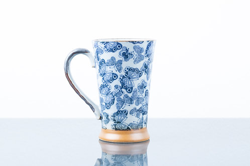 Tazza BLUE BIG BUTTERFLIES L