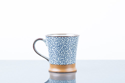 Tazza BLUE SQUIGGLES S