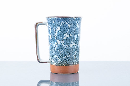 Tazza BLUE BIG FLOWERS XL