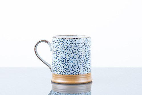 Tazza BLUE SQUIGGLES M