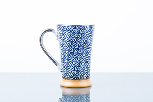 Tazza BLUE GRID L