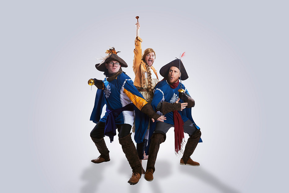 Goldilocks and The Three Musketeers by S