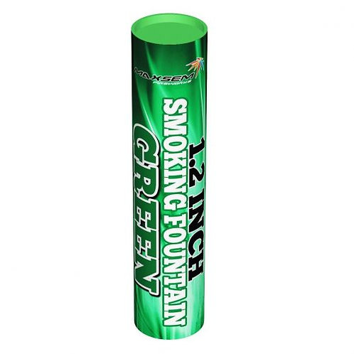Дым зеленый