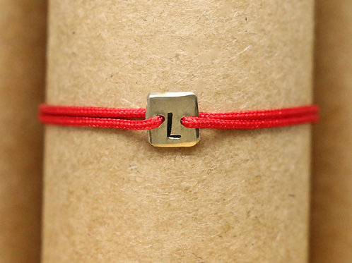 "Bracelet Mini lingot ""L"" c'too or jaune 18 carats"