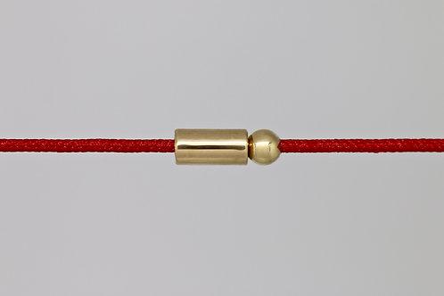 Bracelet morse lettre N c'too or jaune 18 carats