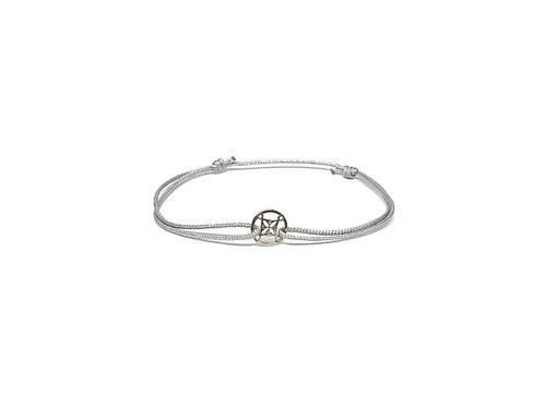 "Bracelet Mini symbole ""voyage"" argent 925"