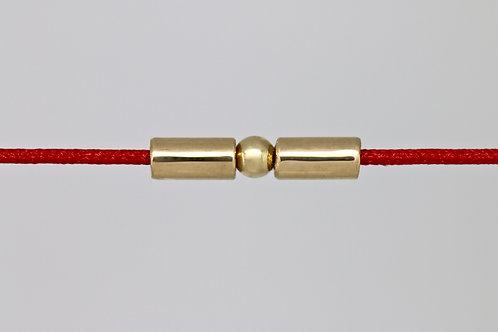 Bracelet morse lettre K c'too or jaune 18 carats