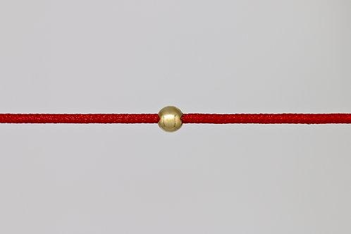 Bracelet morse lettre E c'too or jaune 18 carats